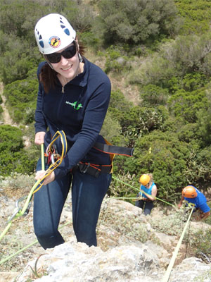 rappelling cala millor